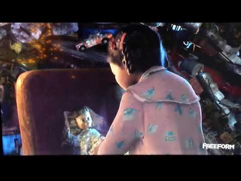 Abandoned toys in the polar express movie