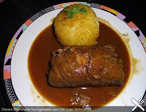 Chefkoch.de Rezept: Rinderrouladen klassisch