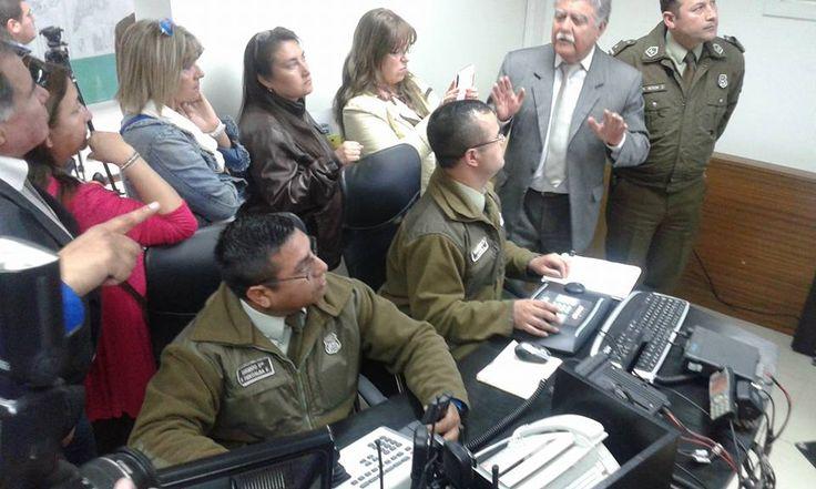 Carabineros de Chile, Utilizando Avigilon Control Center, Video Megapixel de Alta Definicion, @Polytrade Chile
