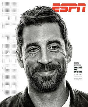"""""""'I've been to the bottom and been to the top, and peace will come from somewhere else.'"""" - Aaron Rodgers"""