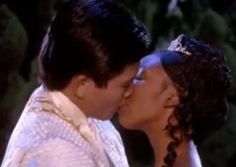 Trending GIF kiss cinderella 1997 brandy norwood tv movie paolo montalban cinderella 1997