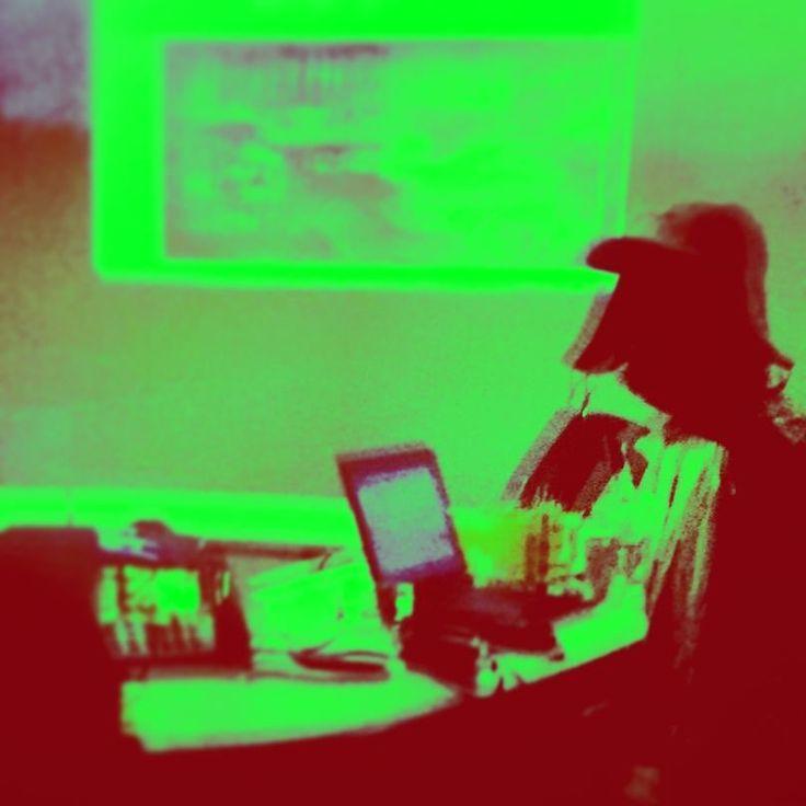 EGA tribute throwback .. . . .  #8bit #ega #greenandblack #shadowpeople #ghostperson #weownthenight #adworkaholics