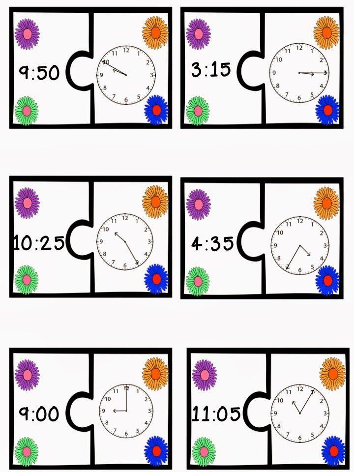 telling time center