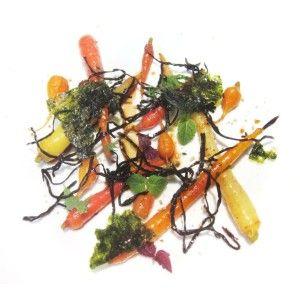 #Carote, #alghe e #sesamo dello Chef Enrico Crippa #foodporn