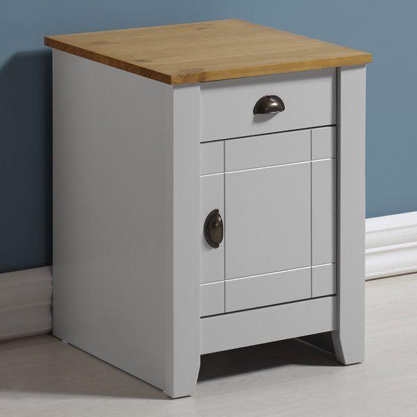 Bradmoor 1 Drawer Bedside Table Bedroom Furniture Sets Bedside Cabinet Drawers