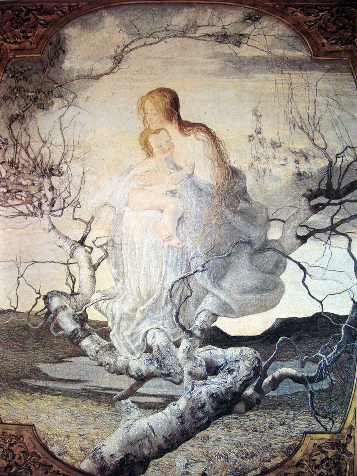 Giovanni Segantini, Angel of Life