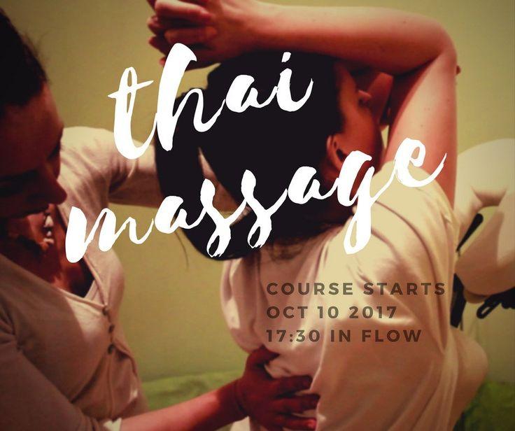Thai Massage Σεμινάριο στην σχολή FLOW, Αθήνα. Η καλύτερη εκπαίδευση τάι μασάζ - περιλαμβάνει όλα τα επίπεδα, και σε σούπερ τιμή!
