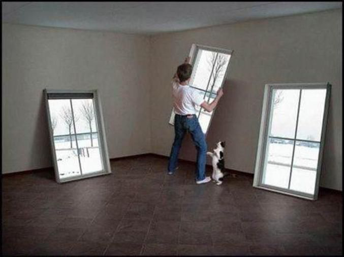 25 best False windows images on Pinterest   Window frames, Window ...