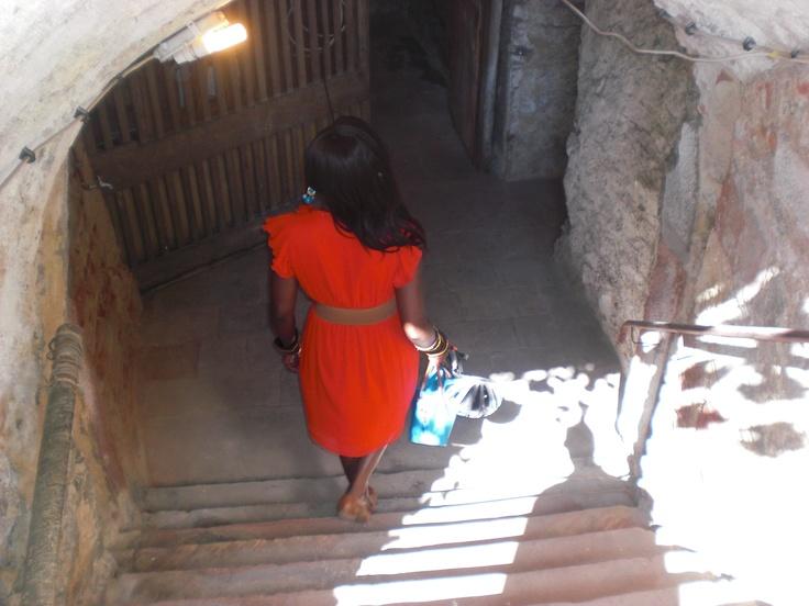 into the underground of castle Steinheim