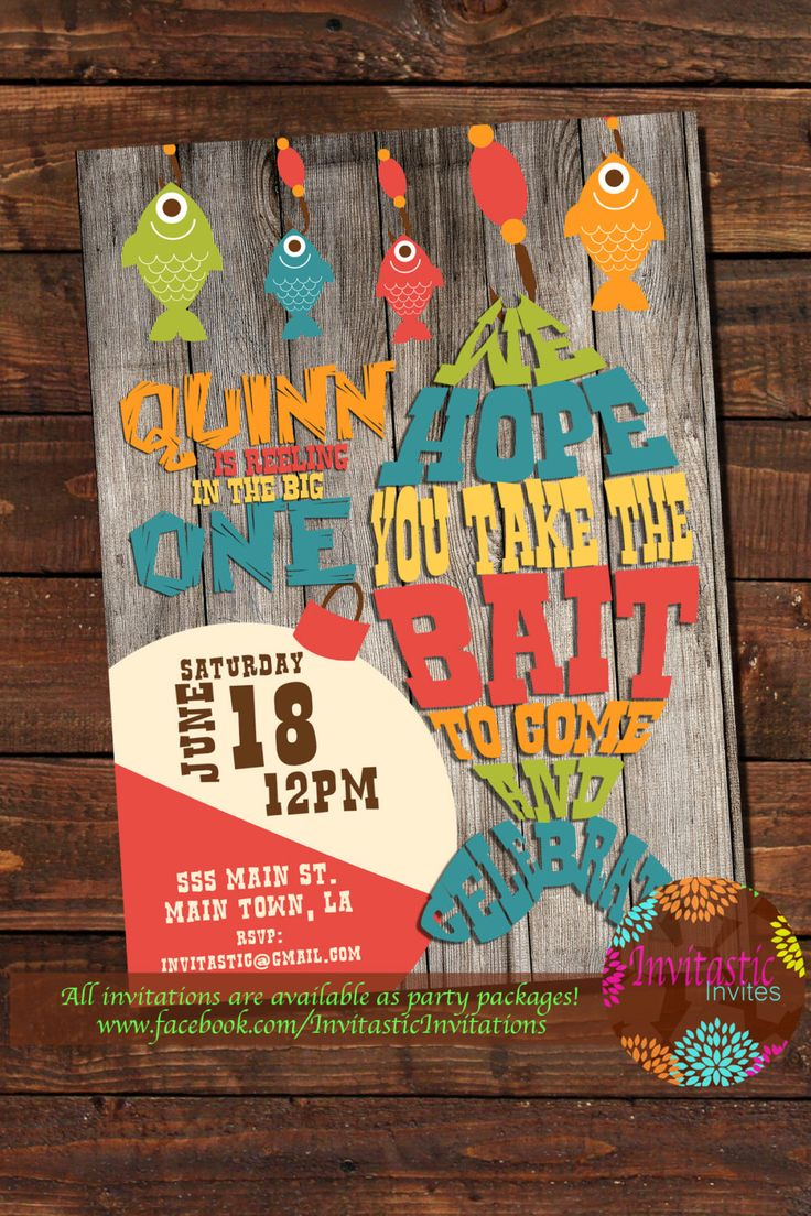Best 25 Fishing party themes ideas on Pinterest