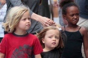 Shiloh & Vivienne (Angelina Jolie si Brad Pit)