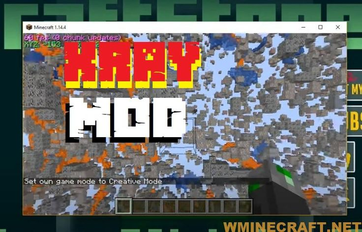 Minecraft Xray Mod 1 16 2 1 15 2 1 14 Xray Ultimate Survival Fly Minecraft Minecraft Mods Survival