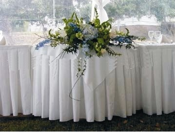 table skirt ideas for weddings birthdays banquets