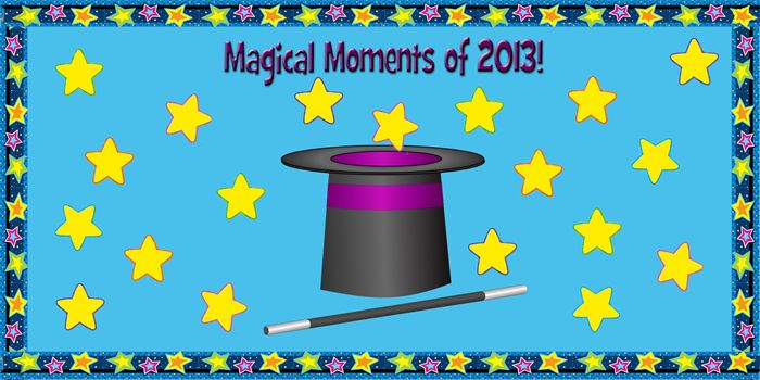 Magical Moments of 2013! - New Years Bulletin Board Idea ...