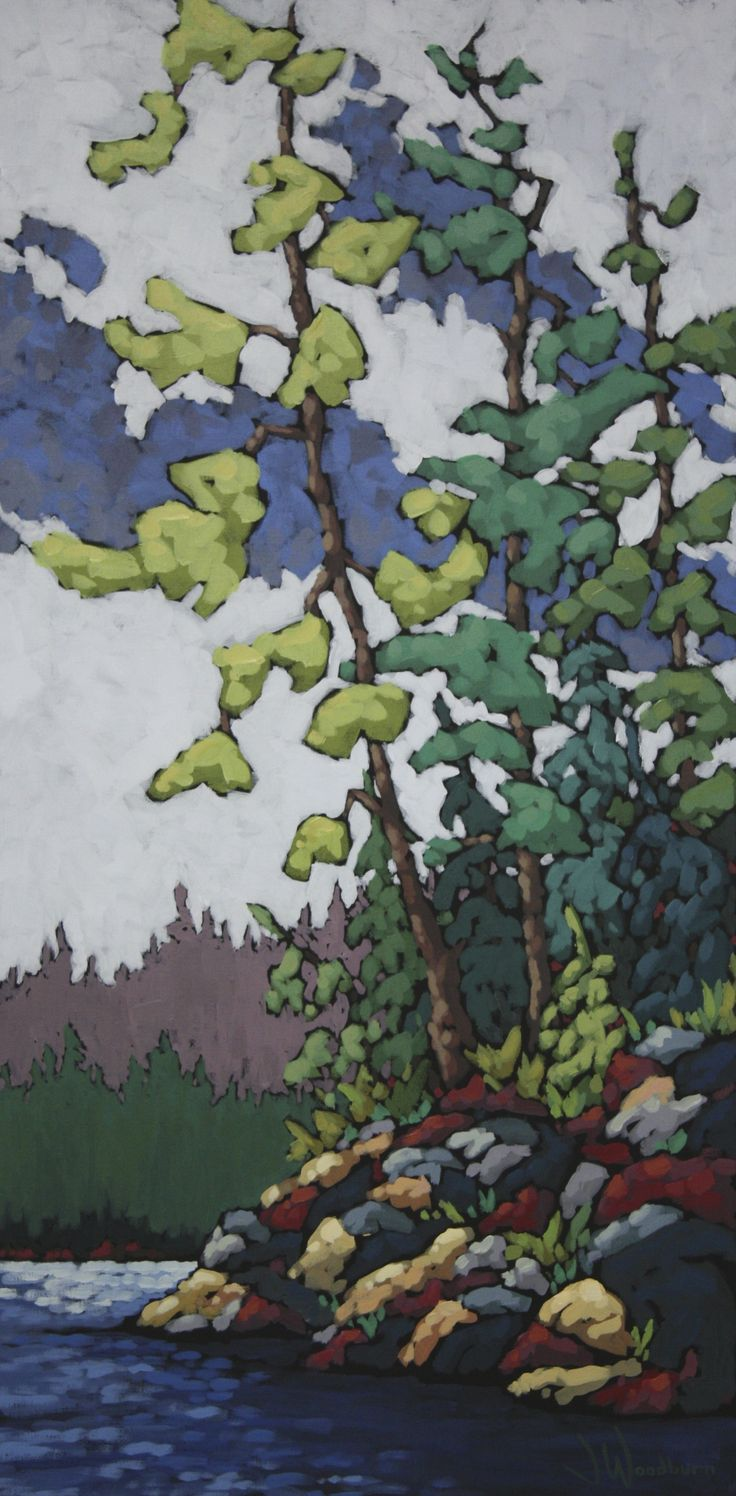 Jennifer Woodburn, Higher Power, 40x20in, Arabella Canadian Landscape Competition