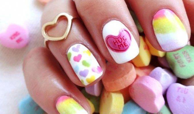 fun nail art ideas Polka Dotsfun nail art ideas Sparkle #funnailartglitter