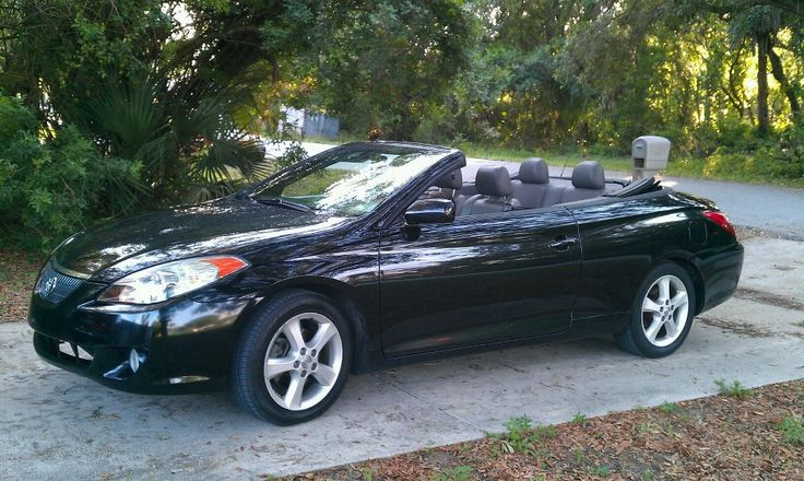 2005 Toyota Solara Convertible ... My actual one! #windscreen http://www.windblox.com/ #winddeflector