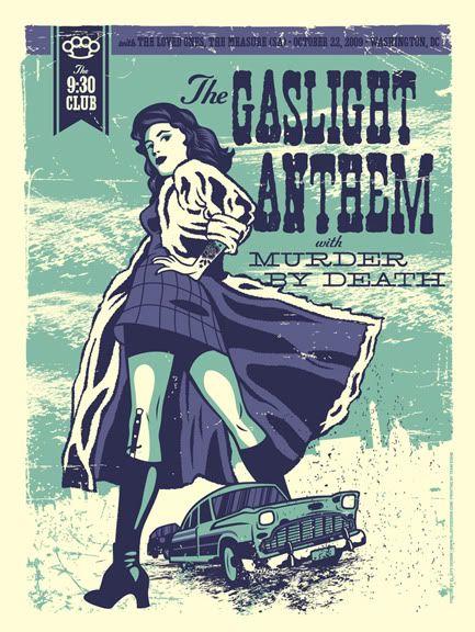 "Gaslight Anthem & Murder By Death - Washington, DC - 9:30 Club - October, 23 2009 - ""Mobster Wife"""