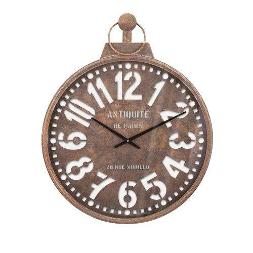 Uptown Beige Wall Clock