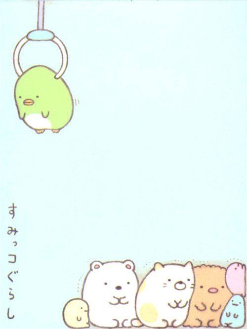 Sumikkogurashi animal in corner piled mini Note Pad 4