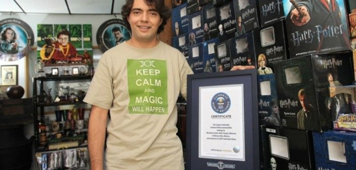 Looking 'Museum' Harry Potter World Record Breaker