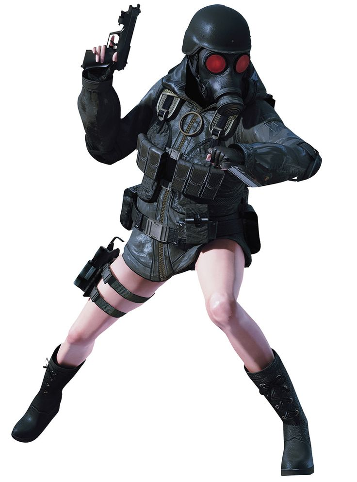 Lady HUNK, Resident Evil series