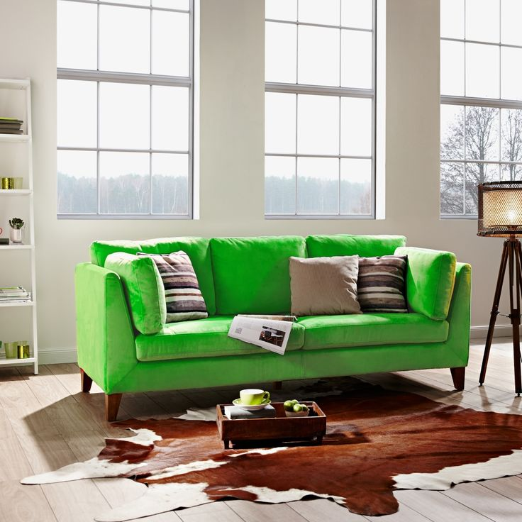 Green Day sedačka / Green living room sofa