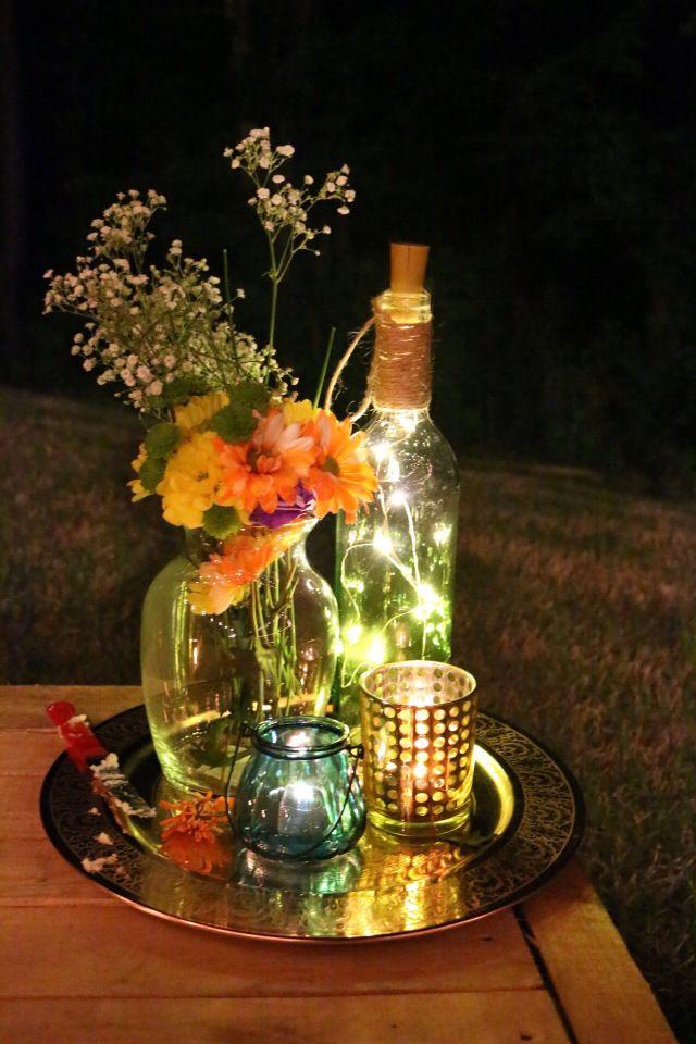 DIY Pallet Dining Outdoor Party Backyard Dinner Wedding Boho Event Decor
