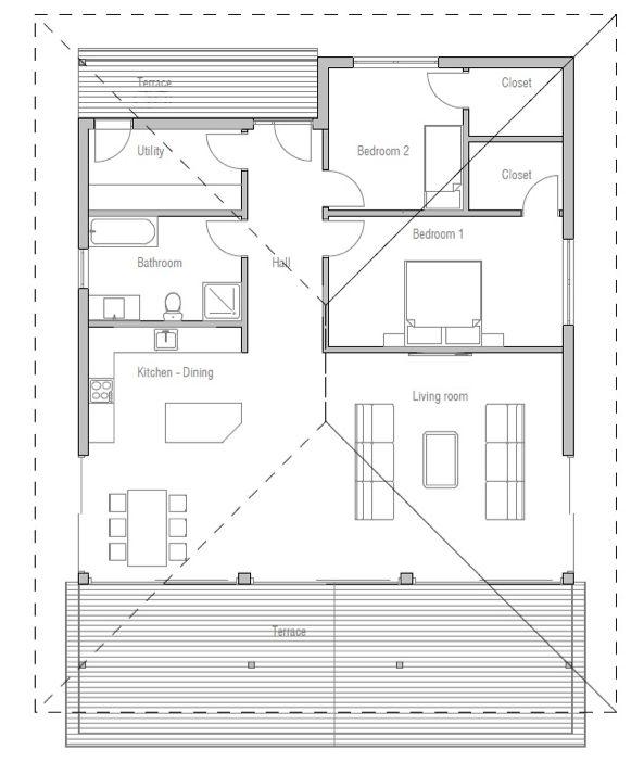 concept home 2-bed floorplan