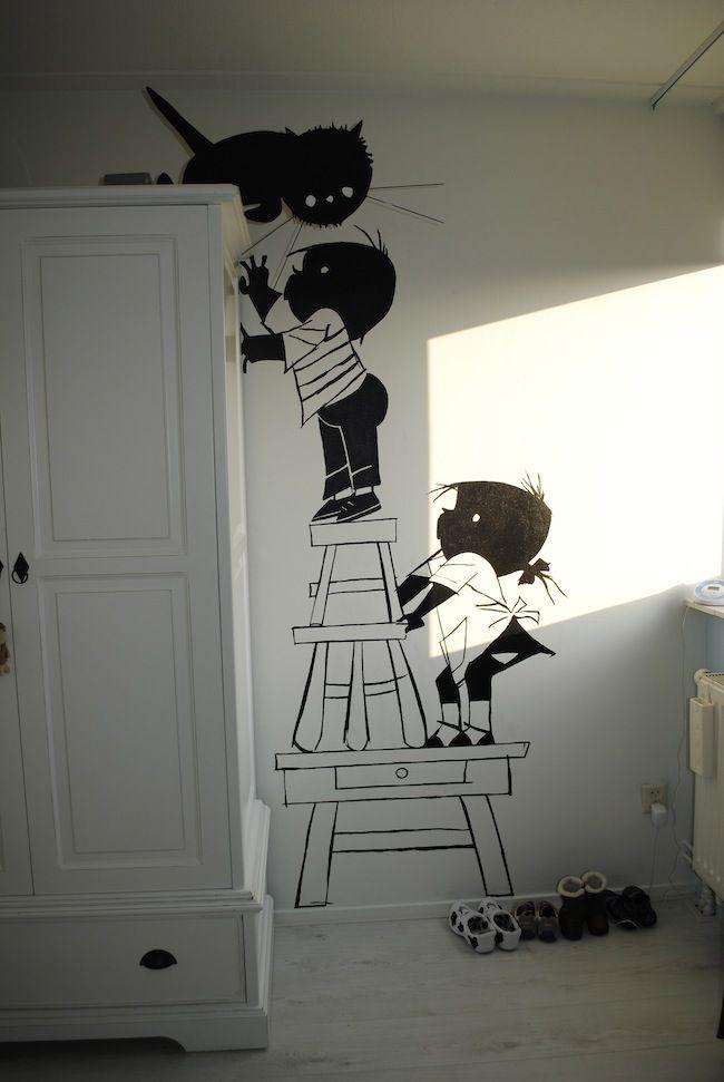544 best images about ambientes infantiles decoraci n on for Ideas para decorar paredes