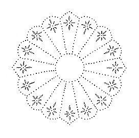 punched tin pattern | Tin Punch Pattern