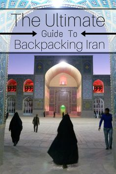 This is the Ultimate Guide to Backpacking Iran. All you need to know about travelling to this Persian nation including budget, must-sees, accommodation, culture, customs, transportation, visas, dangers and more. This is the only guide you'll need for travelling to Iran. http://www.goatsontheroad.com/ultimate-guide-backpacking-iran/