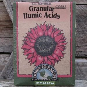 Granular Humic Acids soil conditioner, also known as Humate Soil Conditioner is a highly concentrated source, ideal for use on fields, turf and vegetable gardens. Derived from the ancient remains of d