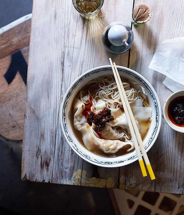 Wonton mee recipe | Gourmet Traveller recipe - Gourmet Traveller