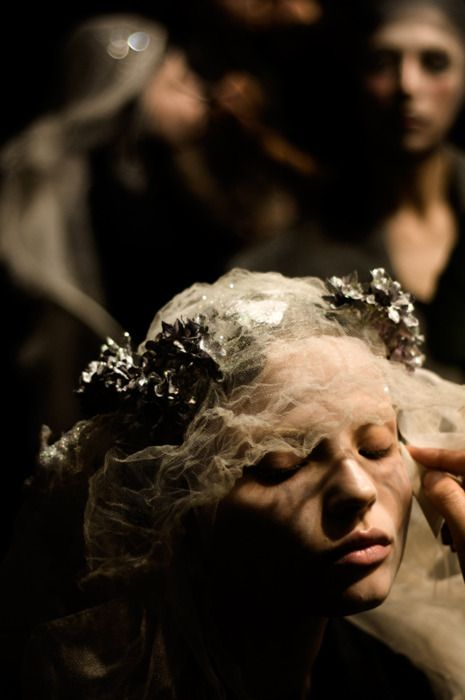 riyaa: Magdalena Frackowiak at John Galliano...