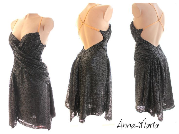 tango latin dress by Anna-Maria