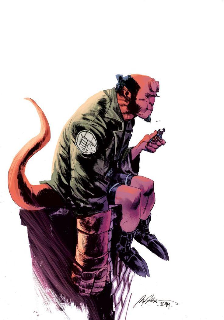 Multiversity Comics » 31 Days of Hellboy: Rafael Albuquerque