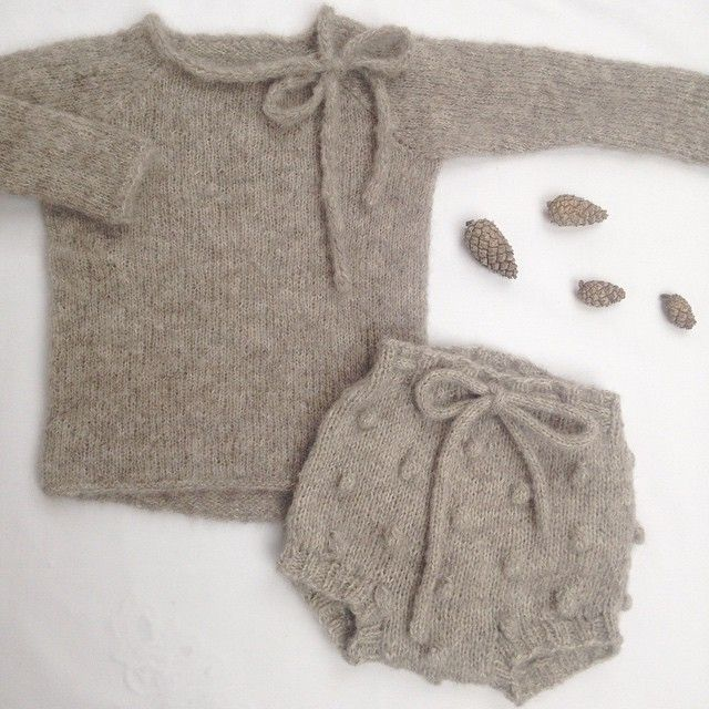 baby sweater & bloomer