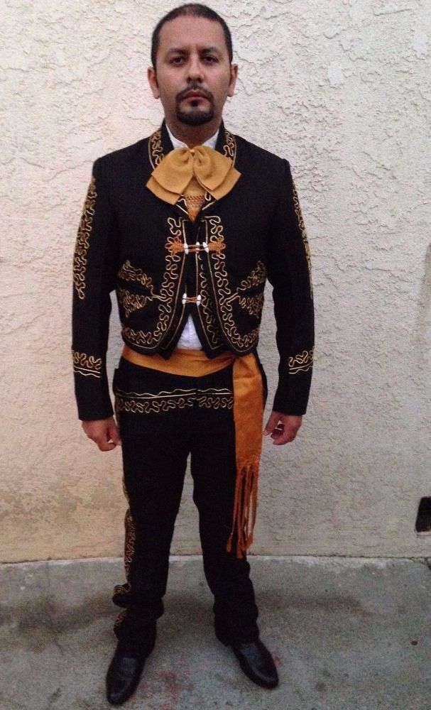 details about mexican mariachicharro men suit size46 from