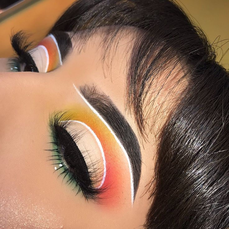 Embedded Makeup Ideas in 2019 Eye makeup, Colorful