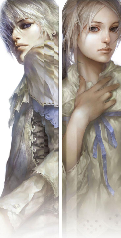 Wizard Portraits - ZerA Imperan game art