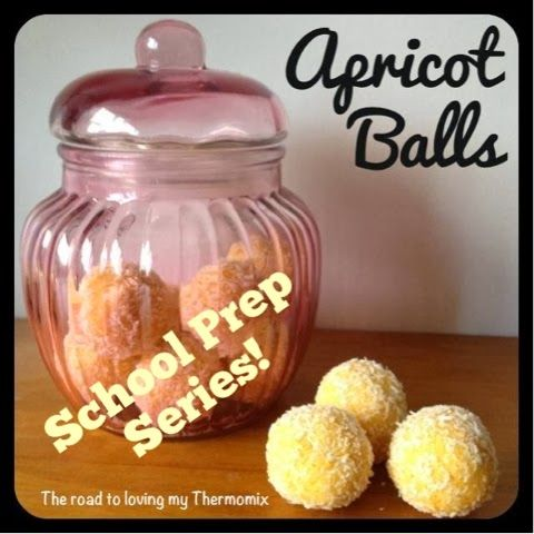 Lunchbox Prep Series: Apricot Balls - The road to loving my Thermomix