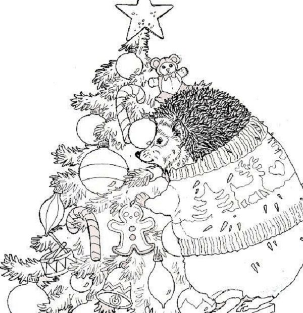 jan brett holiday coloring pages - photo#3