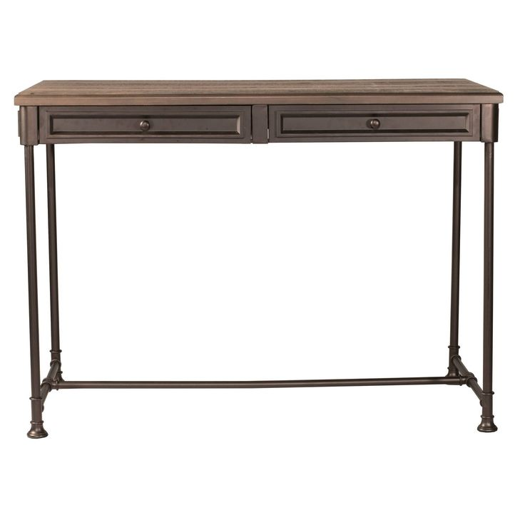 Hillsdale Furniture Casselberry Counter Height Table, Walnut (Brown)