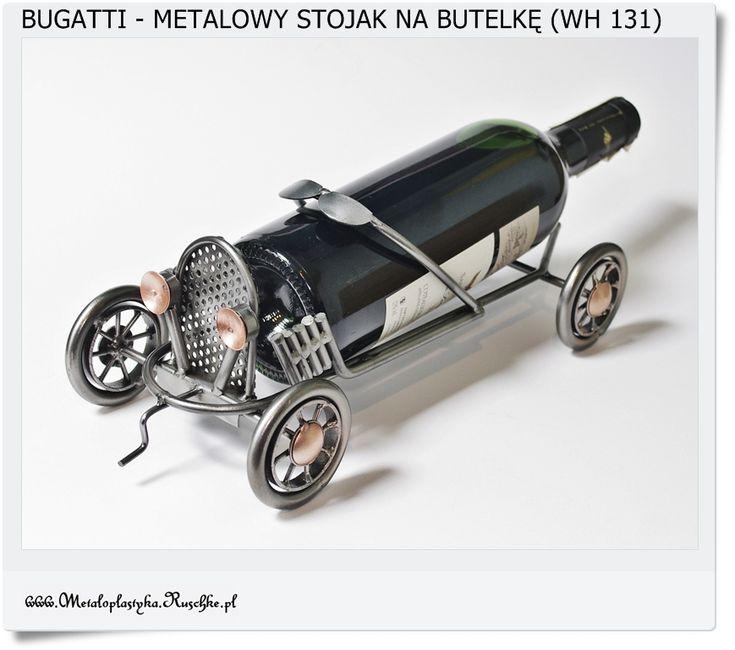 Model Bugatti jako stojak na butelkę Handmade Poland