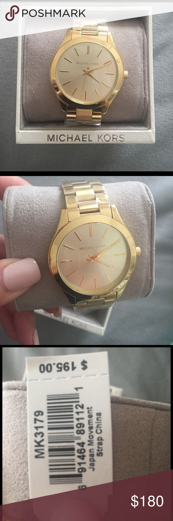 designer watches for women michael kors ddgw  Gold Michael Kors Watch Brand new, with tags, never warn Gold Michael Kors  watch