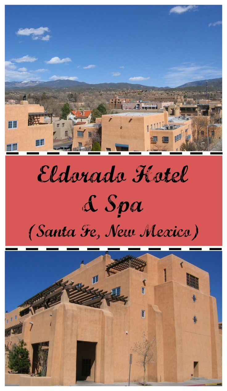 Having stayed in Santa Fe for a quick weekend getaway at the Eldorado Hotel and Spa, I could see why they called it the land of enchantment.
