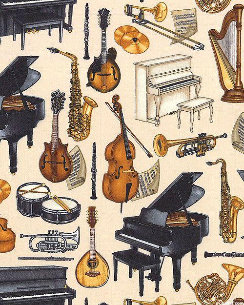 Рисунок оркестра любимые инструменты