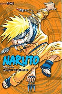 Naruto 7, 8 & 9 - Masashi Kishimoto  Naruto is a young shinobi with an incorrigible knack for mischief. He's got a wild sense of humor, but Naruto is completely serious about his mission to be the world's greatest ninja.