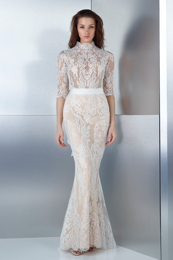 Great WedLuxe u Gemy Maalouf u Bridal Collection Follow WedLuxe for more wedding inspiration